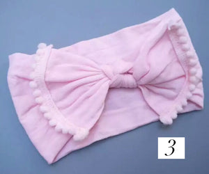 Nylon Scallop Trim Headband