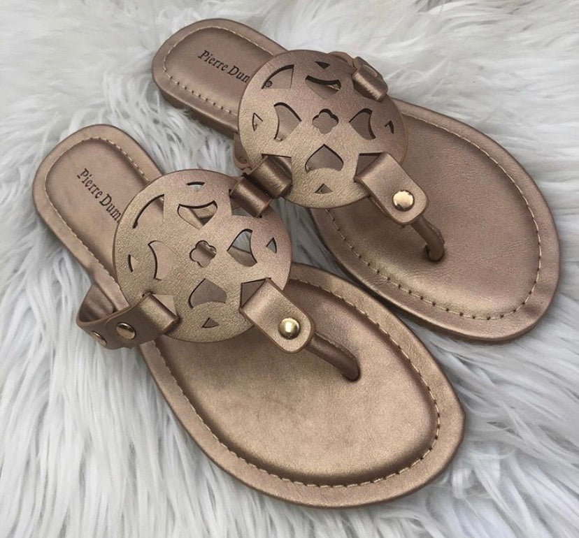 Rose Gold Limit Sandal
