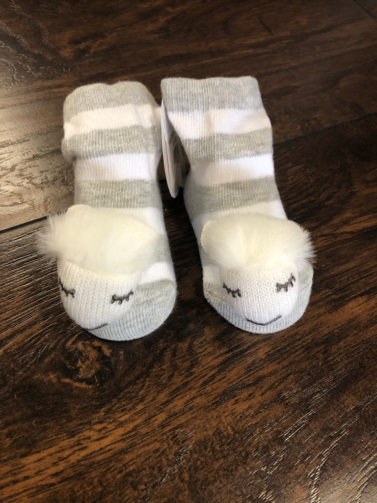 MudPie Rattle Toe Socks