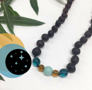 Amber Necklace Limited Edition-Moon