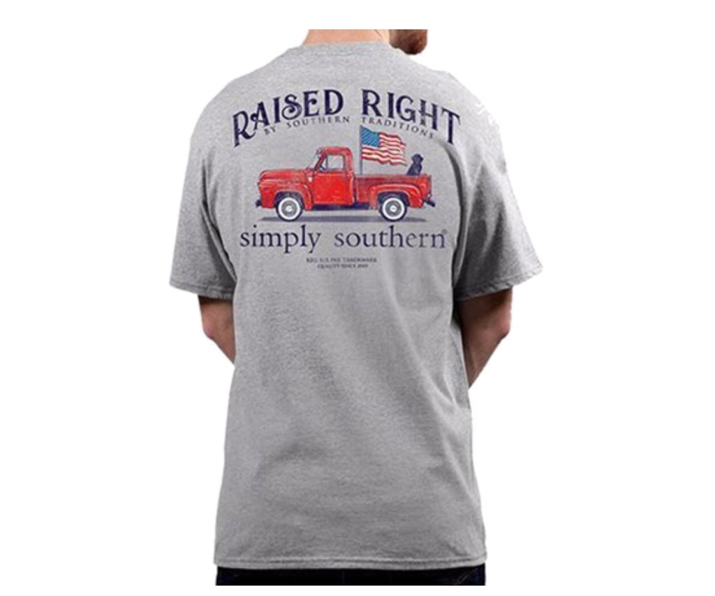 Boys Raised Truck Tee