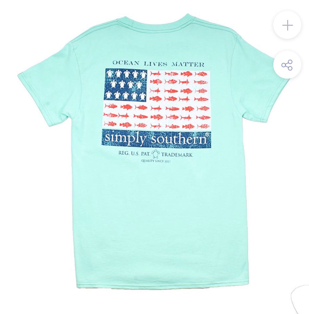 Boys Sea Flag Tee