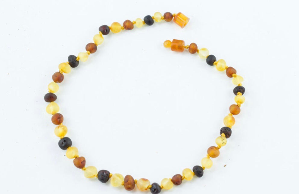 Balticamber Raw Multi Necklace