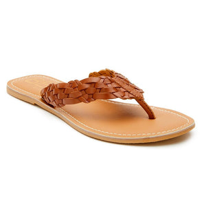 Make Waves Sandal-Tan