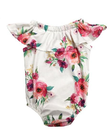 Ophelia Floral Romper