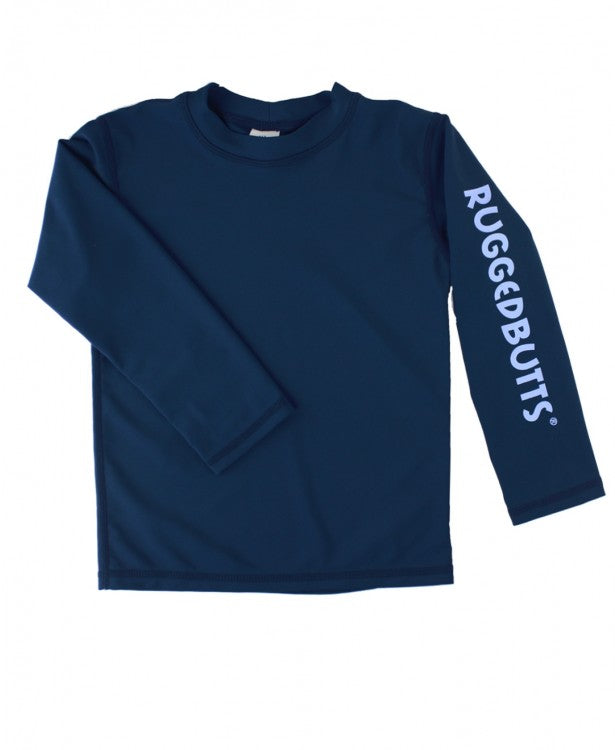 Navy Blue Logo Rash Guard