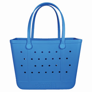Lg Simply Tote- Saphire