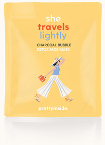 She Travels Lightly Face Mask