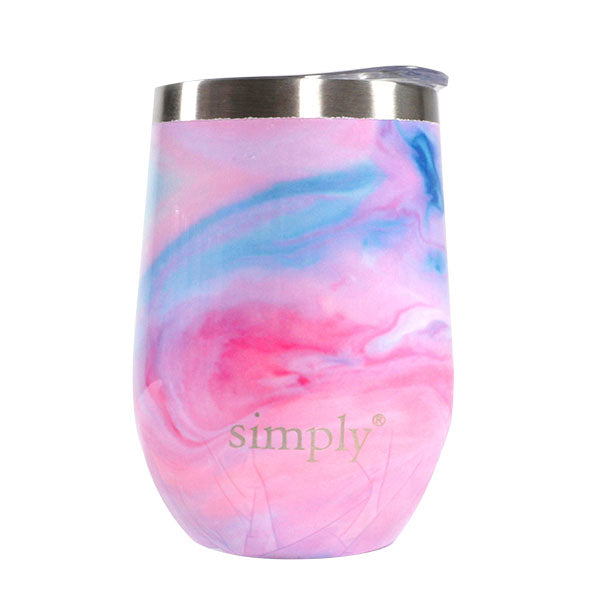 SS Print Wine Glass