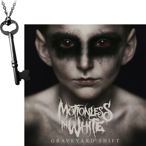 Graveyard Shift CD + Ricky Horror's Key Pendant