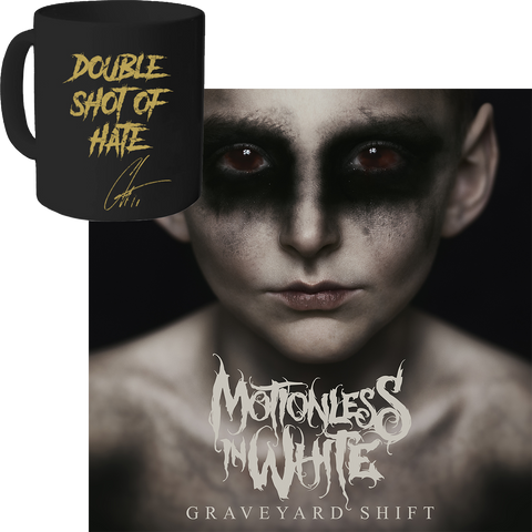 Graveyard Shift CD + Chris Motionless' Mug
