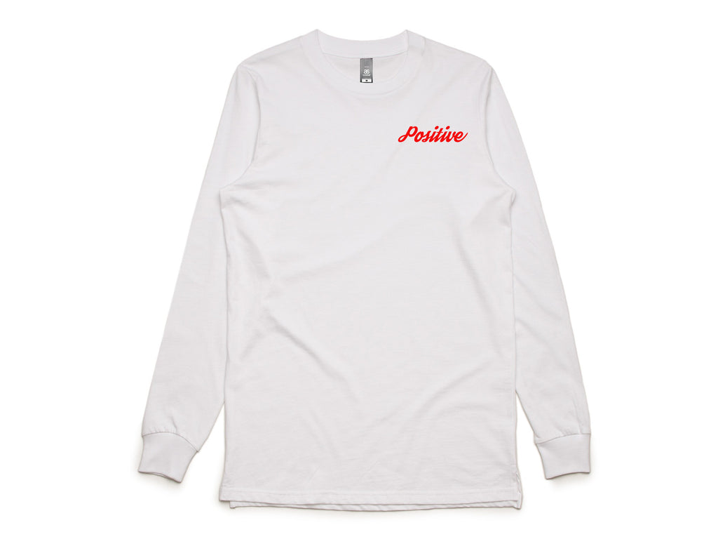 Positive Long Sleeve Tee Shirt