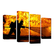 Heroes - 4 Pcs Canvas Set