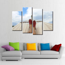 Relaxing Time 4 Pcs Canvas Set