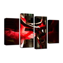 Ballet Is My Passion 4 Pcs Canvas Set
