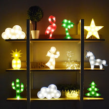 3D Led Light Lamp - Flamingo Style