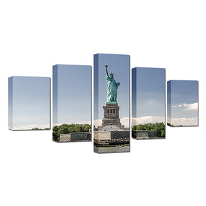 Statue Of Liberty Canvas Set