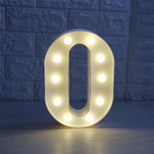 3D Led Light Lamp - A-Z Letters Style
