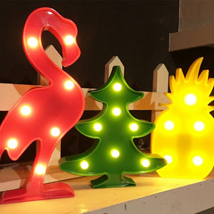 3D Led Light Lamp - XMas Tree Style