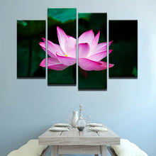 Lotus For The Soul 4 Pcs Canvas Set