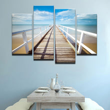 Towards The Horizon Canvas 4 Pcs Wall Art