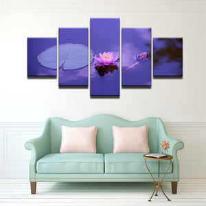 Beautiful Lotus Canvas Set