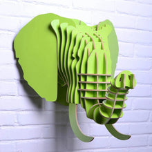 Wooden 3D Wall Hanging - Elephant Style