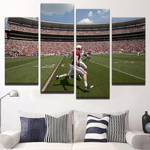 American Football 4 Pcs Canvas Set