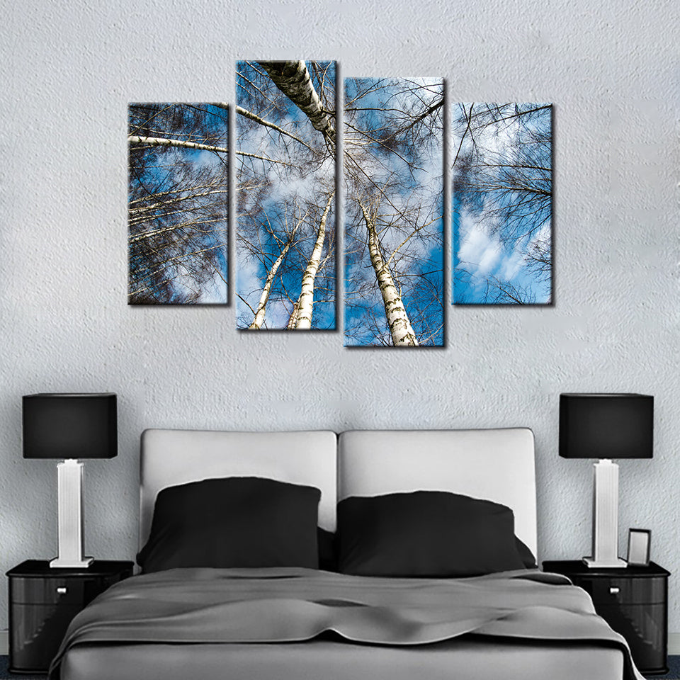 The Forest 4 Pcs Canvas Set