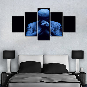 The Mummy 5 Pcs Canvas Set