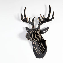 Wooden 3D Wall Hanging - Deer Style