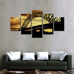 The Bridge 5 Pcs Canvas Set
