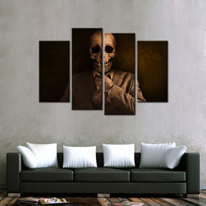 Walking Dead... 4 Pcs Canvas Set