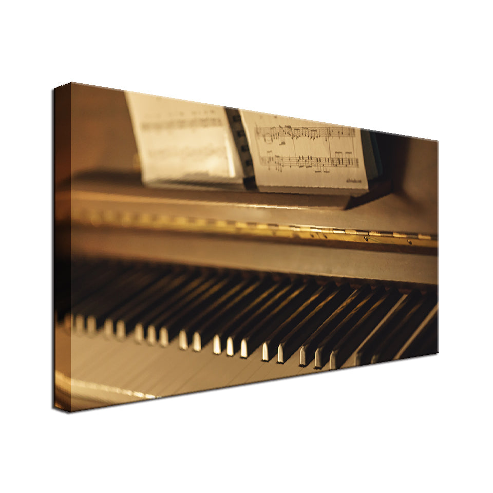 Piano Single Canvas