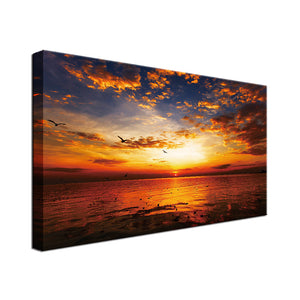 Beautiful Chilling Sunset Single Canvas