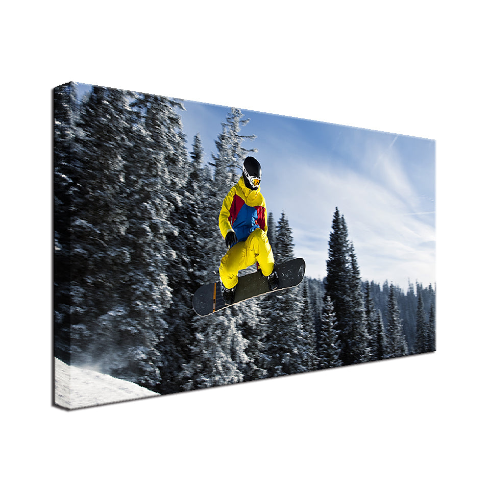 Snowboard Single Canvas
