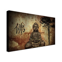 Modern Buddha Single Canvas