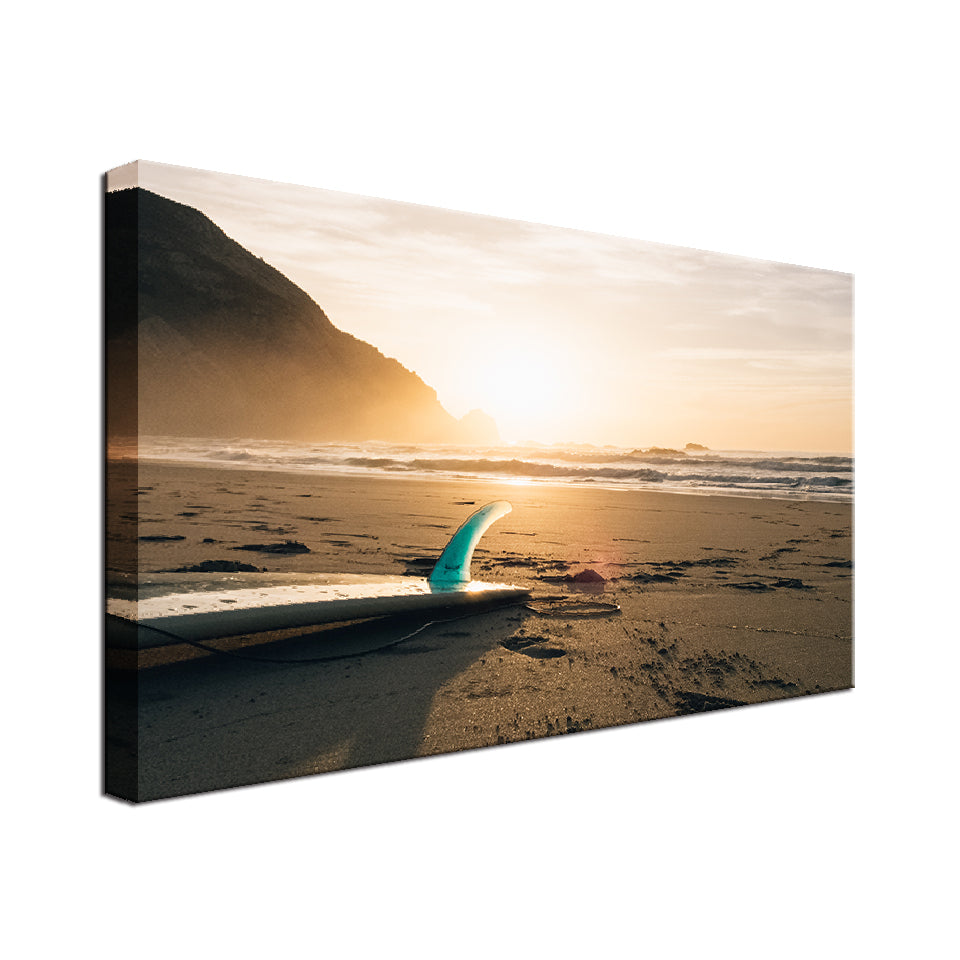 Surfboard Single Canvas