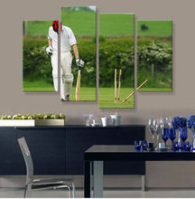Cricket Canvas 4 Pcs Wall Art