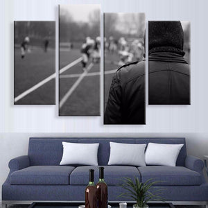 The Game Canvas 4 Pcs Wall Art