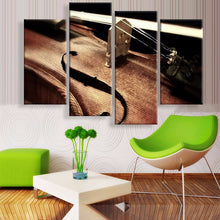 Violin Canvas 4 Pcs Wall Art