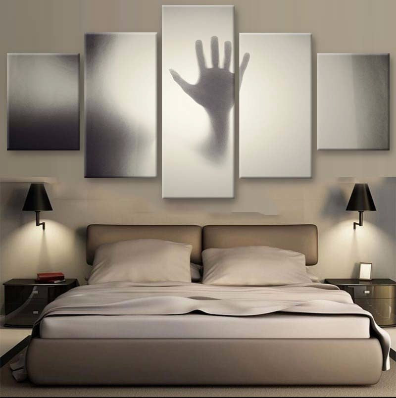 Scary 5 Pcs Canvas Set