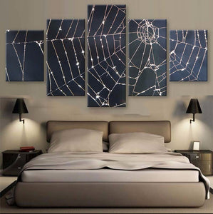 Cobweb 5 Pcs Canvas Set