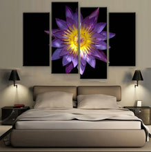 Lotus Canvas 4 Pcs Wall Art