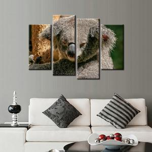 Koala bear 4 Pcs Canvas Set