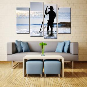 Fishing 4 Pcs Canvas Set