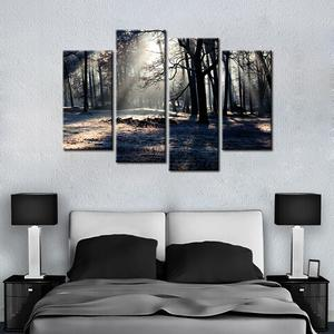 Dark Forest 4 Pcs Canvas Set