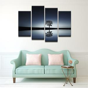 Reflection 4 Pcs Canvas Wall Art