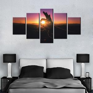 Just Beautiful 5 Pcs Canvas Set