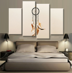 The Dream Catcher Canvas 4 Pcs Wall Art